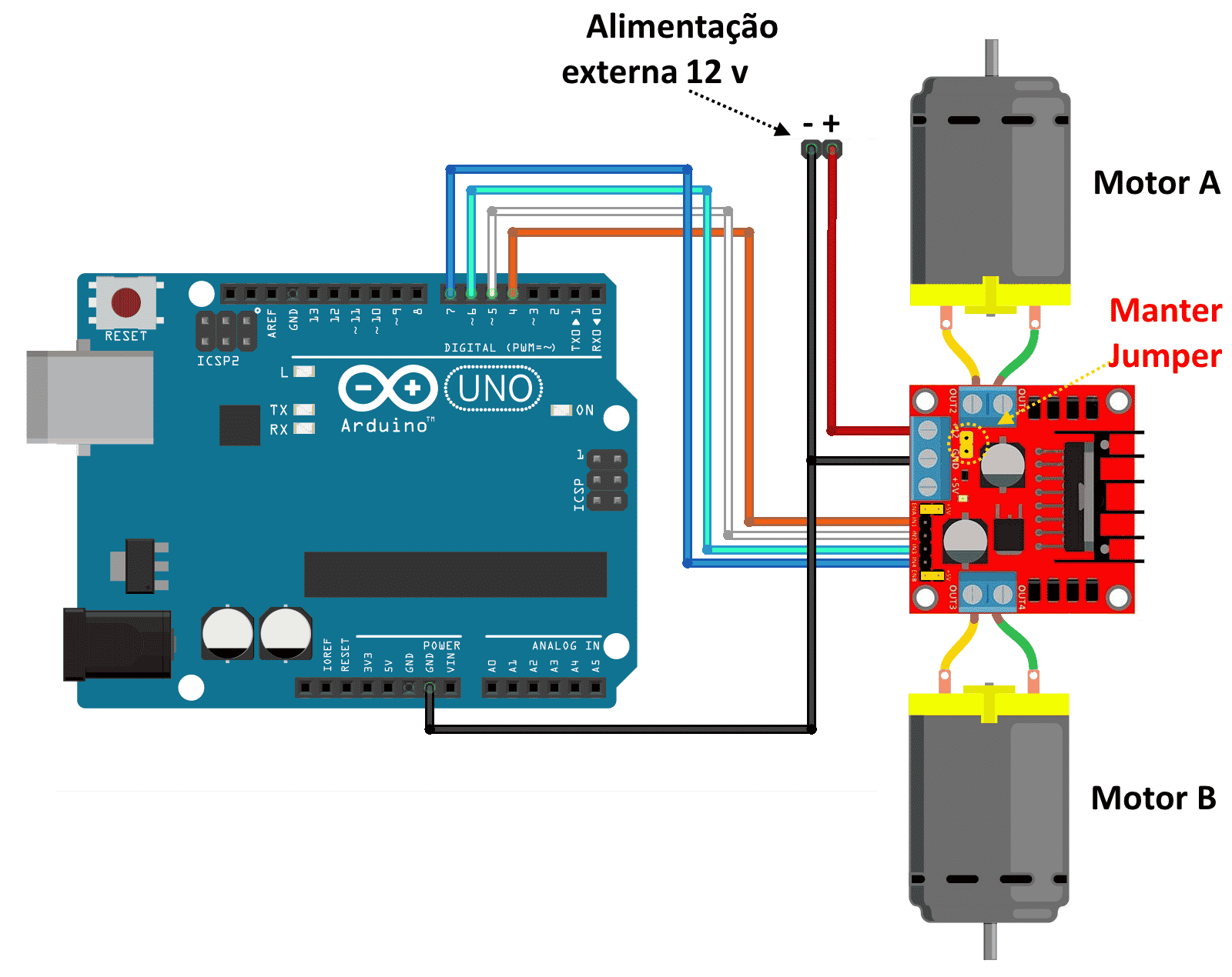 arduino motor shield r3 schematic with Motor Dc Arduino Ponte H L298n on Lectronic likewise 81 together with Motorsteuerung Eines Schrittmotors Stepper Motor as well GRBL Pinout Arduino Nano V30 together with Tidigino The Arduino Based Gsm Remote Control.