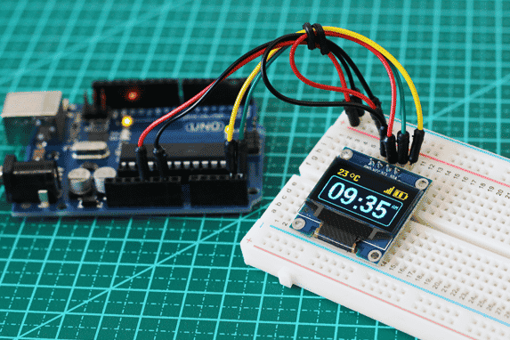 Arduino Uno e Display Oled