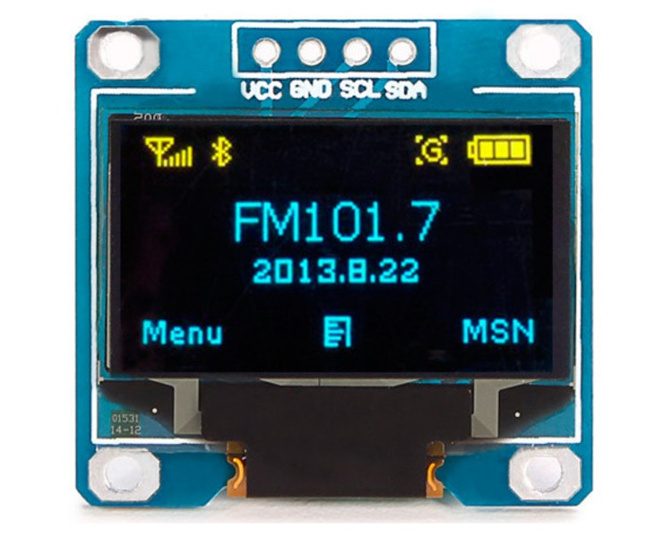 Display Oled I2C 128x64