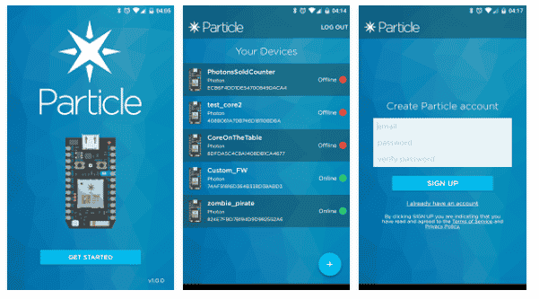 Particle Mobile