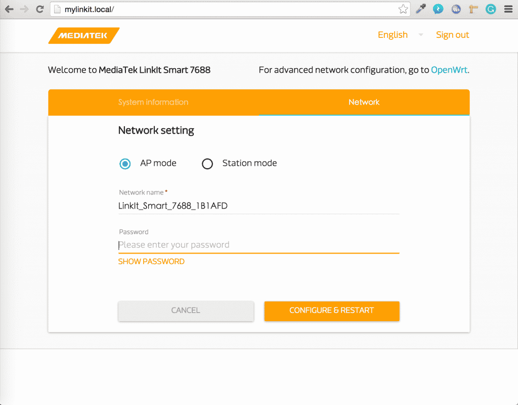 Linkit Smart Acesso Browser